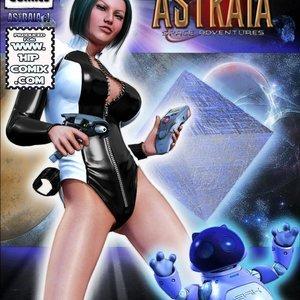 Amazing Astraia - Space Adventures - Bynary Ecstasy - Issue 1-7 Sex Comic HIP Comix 001