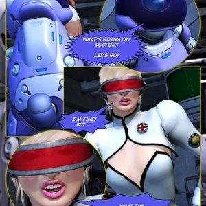 Amazing Astraia - Space Adventures - Bynary Ecstasy - Issue 1-7 Sex Comic HIP Comix 002