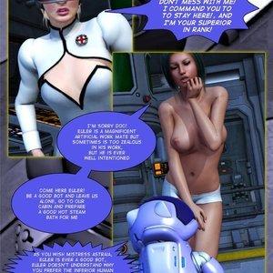 Amazing Astraia - Space Adventures - Bynary Ecstasy - Issue 1-7 Sex Comic HIP Comix 004