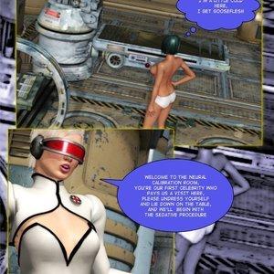 Amazing Astraia - Space Adventures - Bynary Ecstasy - Issue 1-7 Sex Comic HIP Comix 007