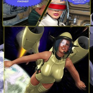 Amazing Astraia - Space Adventures - Bynary Ecstasy - Issue 1-7 Sex Comic HIP Comix 013