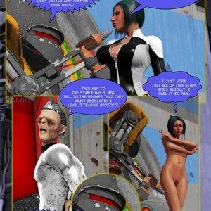 Amazing Astraia - Space Adventures - Bynary Ecstasy - Issue 1-7 Sex Comic HIP Comix 020