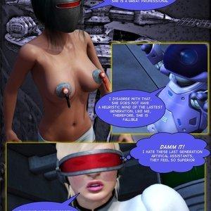 Amazing Astraia - Space Adventures - Bynary Ecstasy - Issue 1-7 Sex Comic HIP Comix 028