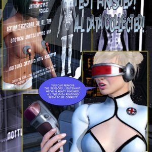 Amazing Astraia - Space Adventures - Bynary Ecstasy - Issue 1-7 Sex Comic HIP Comix 029
