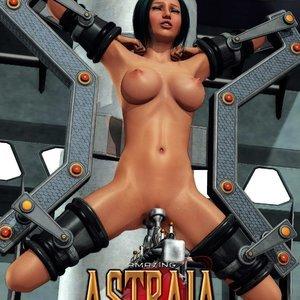 Amazing Astraia - Space Adventures - Bynary Ecstasy - Issue 1-7 Sex Comic HIP Comix 032