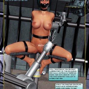 Amazing Astraia - Space Adventures - Bynary Ecstasy - Issue 1-7 Sex Comic HIP Comix 033