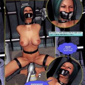 Amazing Astraia - Space Adventures - Bynary Ecstasy - Issue 1-7 Sex Comic HIP Comix 036