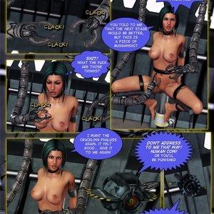 Amazing Astraia - Space Adventures - Bynary Ecstasy - Issue 1-7 Sex Comic HIP Comix 039