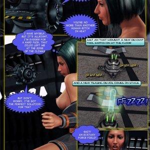 Amazing Astraia - Space Adventures - Bynary Ecstasy - Issue 1-7 Sex Comic HIP Comix 041