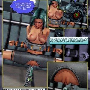 Amazing Astraia - Space Adventures - Bynary Ecstasy - Issue 1-7 Sex Comic HIP Comix 050