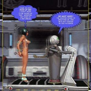 Amazing Astraia - Space Adventures - Bynary Ecstasy - Issue 1-7 Sex Comic HIP Comix 064
