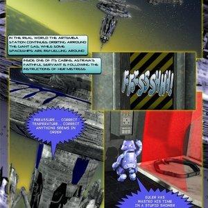 Amazing Astraia - Space Adventures - Bynary Ecstasy - Issue 1-7 Sex Comic HIP Comix 066