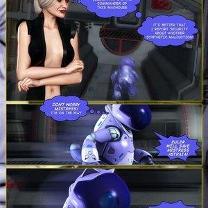 Amazing Astraia - Space Adventures - Bynary Ecstasy - Issue 1-7 Sex Comic HIP Comix 069