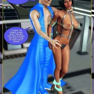Amazing Astraia - Space Adventures - Bynary Ecstasy - Issue 1-7 Sex Comic HIP Comix 073