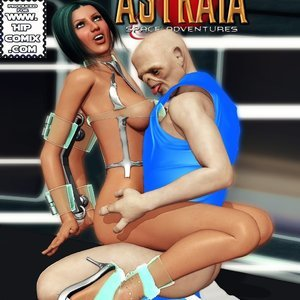 Amazing Astraia - Space Adventures - Bynary Ecstasy - Issue 1-7 Sex Comic HIP Comix 084
