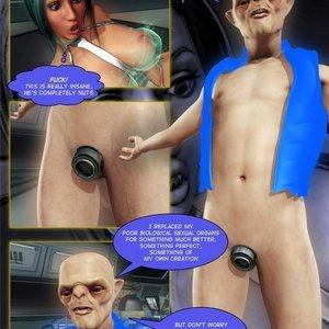 Amazing Astraia - Space Adventures - Bynary Ecstasy - Issue 1-7 Sex Comic HIP Comix 085