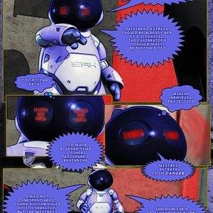 Amazing Astraia - Space Adventures - Bynary Ecstasy - Issue 1-7 Sex Comic HIP Comix 106
