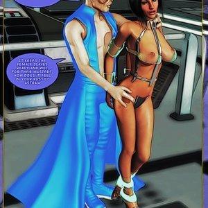 Amazing Astraia - Space Adventures - Bynary Ecstasy - Issue 1-7 Sex Comic HIP Comix 112