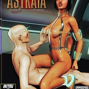 Amazing Astraia - Space Adventures - Bynary Ecstasy - Issue 1-7 Sex Comic HIP Comix 121