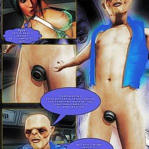 Amazing Astraia - Space Adventures - Bynary Ecstasy - Issue 1-7 Sex Comic HIP Comix 122