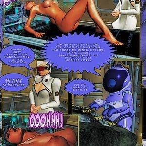 Amazing Astraia - Space Adventures - Bynary Ecstasy - Issue 1-7 Sex Comic HIP Comix 135