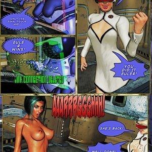Amazing Astraia - Space Adventures - Bynary Ecstasy - Issue 1-7 Sex Comic HIP Comix 136