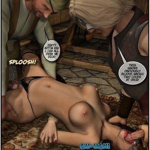 Black Jack The Pirate - Issue 1-9 Cartoon Porn Comic HIP Comix 009