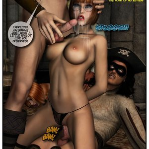 Black Jack The Pirate - Issue 1-9 Cartoon Porn Comic HIP Comix 012