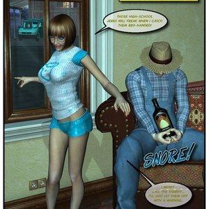 Black Jack The Pirate - Issue 1-9 Cartoon Porn Comic HIP Comix 022