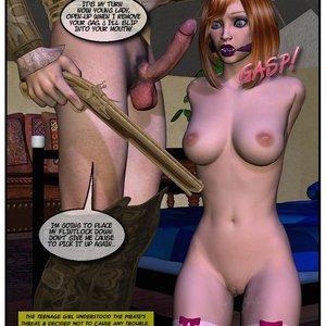 Black Jack The Pirate - Issue 1-9 Cartoon Porn Comic HIP Comix 050