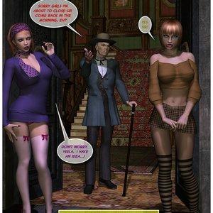 Black Jack The Pirate - Issue 1-9 Cartoon Porn Comic HIP Comix 062