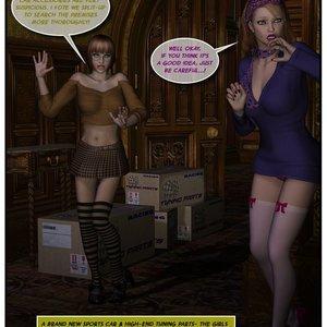 Black Jack The Pirate - Issue 1-9 Cartoon Porn Comic HIP Comix 064