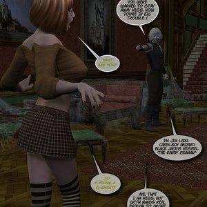 Black Jack The Pirate - Issue 1-9 Cartoon Porn Comic HIP Comix 071