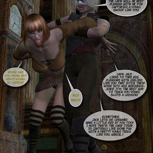 Black Jack The Pirate - Issue 1-9 Cartoon Porn Comic HIP Comix 072