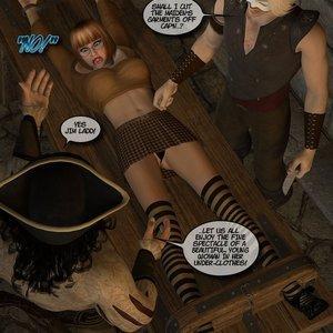 Black Jack The Pirate - Issue 1-9 Cartoon Porn Comic HIP Comix 078