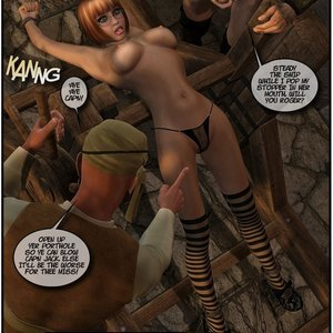 Black Jack The Pirate - Issue 1-9 Cartoon Porn Comic HIP Comix 101