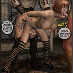 Black Jack The Pirate - Issue 1-9 Cartoon Porn Comic HIP Comix 112