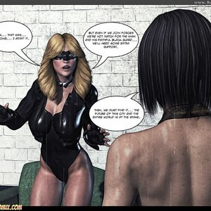 Black Strix - The Black Hand of Fate - Issue 1-9 PornComix HIP Comix 021