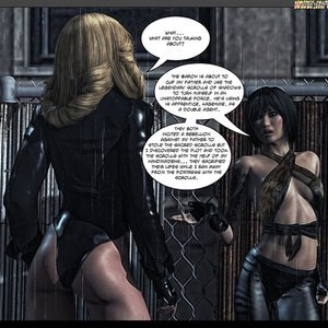 Black Strix - The Black Hand of Fate - Issue 1-9 PornComix HIP Comix 022