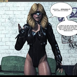 Black Strix - The Black Hand of Fate - Issue 1-9 PornComix HIP Comix 025