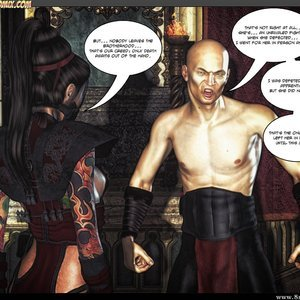 Black Strix - The Black Hand of Fate - Issue 1-9 PornComix HIP Comix 028