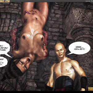 Black Strix - The Black Hand of Fate - Issue 1-9 PornComix HIP Comix 033