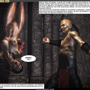 Black Strix - The Black Hand of Fate - Issue 1-9 PornComix HIP Comix 036
