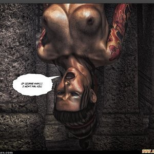 Black Strix - The Black Hand of Fate - Issue 1-9 PornComix HIP Comix 044