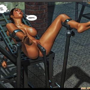Black Strix - The Black Hand of Fate - Issue 1-9 PornComix HIP Comix 070