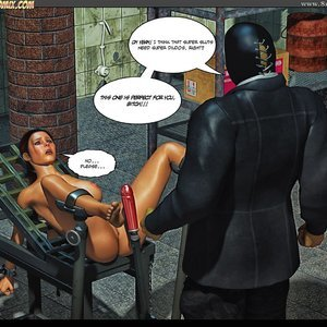 Black Strix - The Black Hand of Fate - Issue 1-9 PornComix HIP Comix 072
