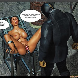 Black Strix - The Black Hand of Fate - Issue 1-9 PornComix HIP Comix 073
