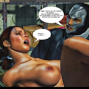 Black Strix - The Black Hand of Fate - Issue 1-9 PornComix HIP Comix 079