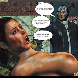 Black Strix - The Black Hand of Fate - Issue 1-9 PornComix HIP Comix 080