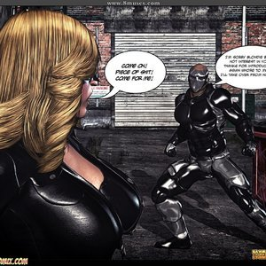 Black Strix - The Black Hand of Fate - Issue 1-9 PornComix HIP Comix 091